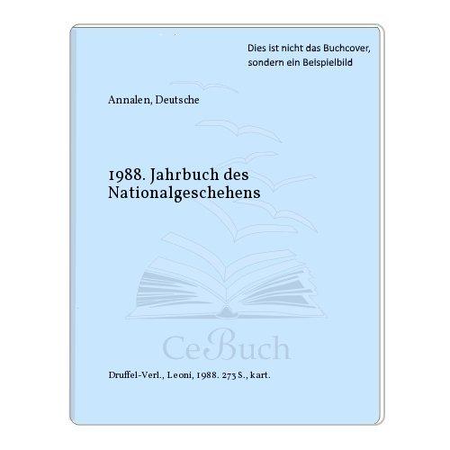 1988. Jahrbuch des Nationalgeschehens