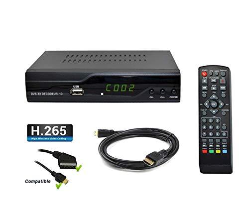 Tempo 4000H.265hevc terrestrischer Receptor HD–DVB-T2compatible para Nueva canales–HDMI Full HD PVR USB