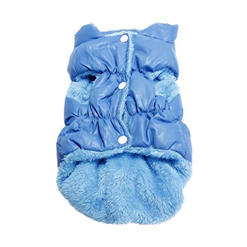 Morza Dog-Winter-warme Mäntel Jacken Haustier-Hund kleidet Wintermantel Weste Welpen Daunenjacke Kleidung Plus Size -