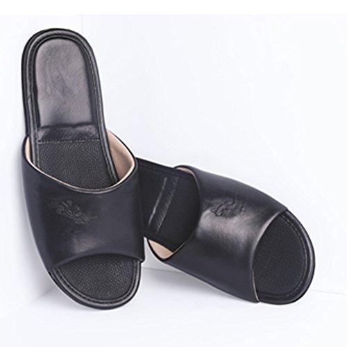 KENROLL Women's Slipper, Mules pour Femme Noir