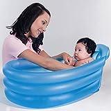 Bestway 51113b - Baby Badewanne mit Lehne, blau, Planschbecken, Pool -