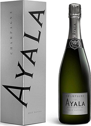 Champagne Ayala Brut Nature in Geschenkverpackung (1 x 0.75 l) (Jahr In Der Champagne)
