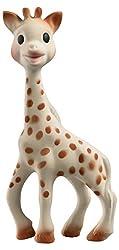 elements for kids GmbH Sophie la girafe (Geschenkkarton braun Figur aus 100% Naturkautschuk, nur mit Lebensmittelfarbe bemalt, 18cm. Regt alle Sinne der Neugeborenen an und beruhigt, wenn die ersten Zähnchen kommen. Geeignet ab Geburt. Nur mi...