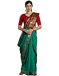 Craftsvilla Silk Saree With Blouse Piece (MCRAF25594557360_Green_Free Size)