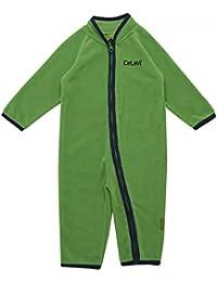 Celavi Baby Jungen Fleece-Overall in grün