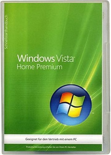 Windows Vista Home Premium 32 Bit OEM inkl. Service Pack 1 (Betriebssystem Windows Vista)