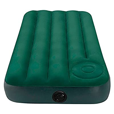 Intex Junior Single Size Downy Airbed Built In Foot Pump #66950 produced by Intex - quick delivery from UK.