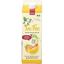 TeeFee Bio-Eistee mit Karotte Orange Pfirsich, 8er Pack (8 x 1 l)