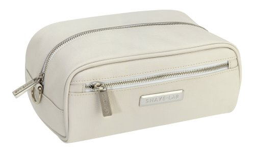SHAVE-LAB Kulturbeutel Holdall in Futan Canvas White
