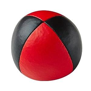 Henrys J05010-B05 - Bolsas de Frijol de Primera Calidad, diámetro 67 mm, Negro / Rojo