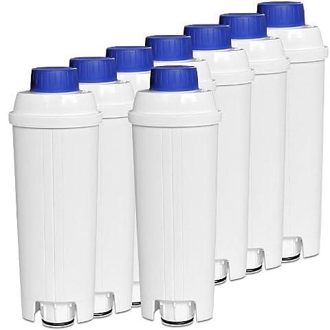 8x DeLonghi SER 3017 Wasserfilter für Kaffeevollautomaten der