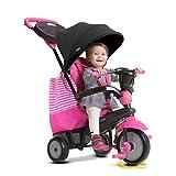 smarTrike 650-06004in 1Triciclo Giocattolo per Bambini, Rosa