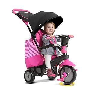 SMARTRIKE 650-06004en 1-Triciclo Infantil, Color Rosa