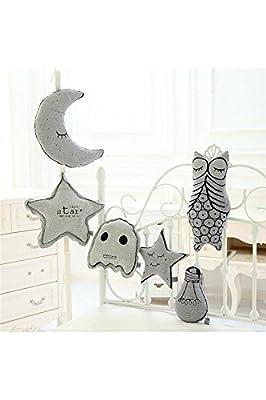 YOIL Mondform leuchtendes Kissen Baby Warm Spielzeug Home Dekoration von YOIL - Gartenmöbel von Du und Dein Garten