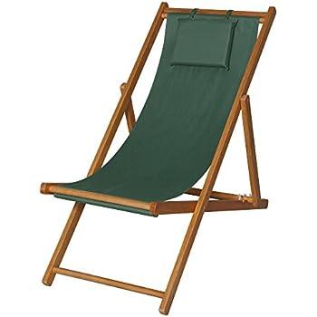 Chaise longue de jardin en bois fauteuil relax chaise for Chaise longue jardin amazon