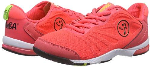 Zumba Footwear Zumba Impact Pulse, Damen Fitnessschuhe, Pink (Neopulse Pink), 43 EU (8.5 UK) -