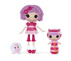 Mini Lalaloopsy - Sisters - Pillow Featherbed & Blanket Featherbed - Mini Poupée 7,5 cm