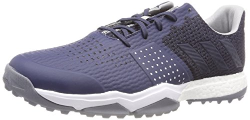 adidas Adipower S Boost 3, Chaussures de Golf Homme, Bleu (Blue F33582), 42 EU