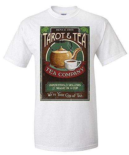 Tarot and Tea - Vintage Sign (Premium T-Shirt)