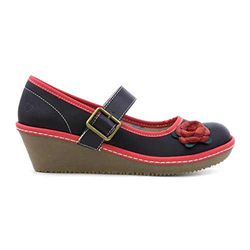 Heavenly Feet , Mary Janes pour femme Multicolore