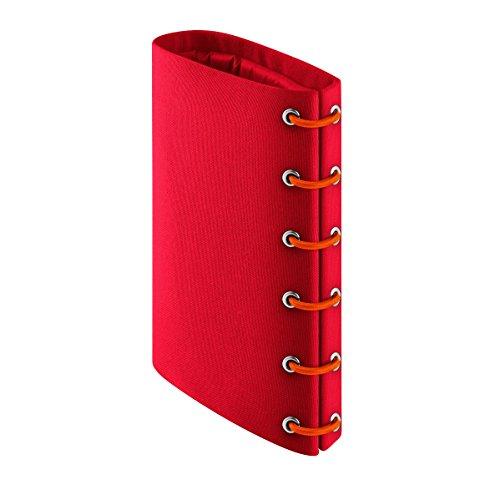 Eva Solo 5706631059442 567476 Weinkühler, Integriertes Kühlgel, Nylon, rot, 16 x 12,4 x 3,8 cm