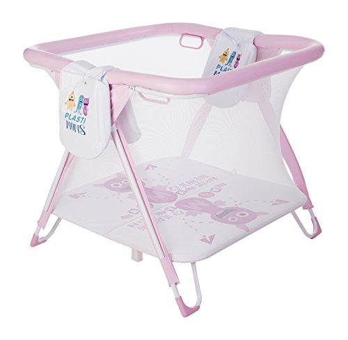 Plastimyr Plastimons - Parque americano cuadrado, color rosa