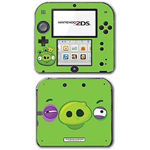 Angry Birds Bad Piggies Space Go Epic Fight Pig Video Game Vinyl Decal Skin Sticker Cover for Nintendo 2DS System Console by Vinyl Skin