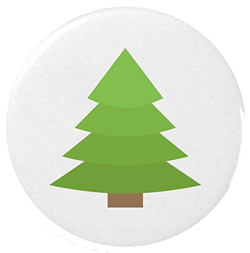 conifere-badge-25-mm-badge-bouton-emoji-evergreen-tree-emoji-25mm-button-badge