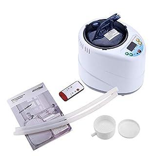 Asixx Sauna Steamer, Spa Steamer 2L Fumigation Machine Home Steamer Steam Generator for Sauna Spa Tent Body Therapy(UK Plug)