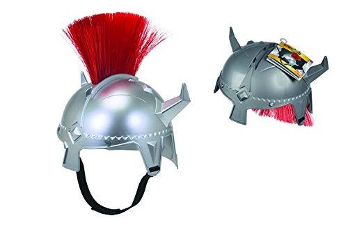 Simba 108042242 Helm mit Textilbändern zur Befestigung, mehrfarbig (Ritter Kostüm Verkleiden)