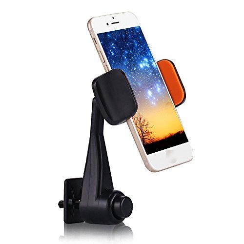 Supporto Car Mount Air Vent Phone Holder Universale 360 gradi di rotazione regolabile presa d'aria Telefono culla di supporto per iPhone 7 6 6s plus 5S 5C Samsung S7 S6 Bordo Inoltre S5 S4 S3 Nota 2 3 4 5 LG