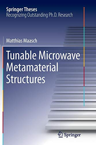 Tunable Microwave Metamaterial Structures (Springer Theses) -
