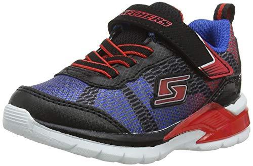 Skechers Baby Jungen Erupters Ii - Lava Waves Sneaker Mehrfarbig (Black/Blue/Lime Bkrb) 22 ()
