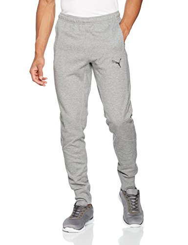 Puma Ascension Casuals Sweat Pants Pantalón, Hombre, Color Gris Medio, tamaño Large