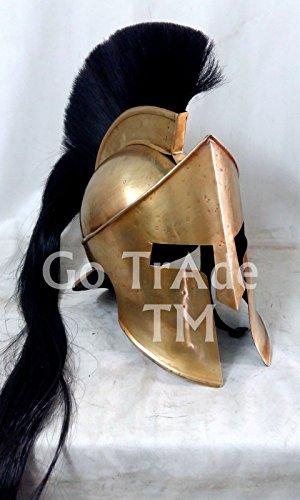 ANTIQUENAUTICAS 300 Spartanischer Krieger Film König Leonidas Mittelalterliches Römisches Kostüm Griechischer Helm ()