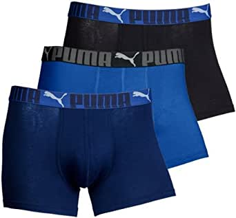 Puma Sport Lifestyle Boxers 3-Pack Sizes Small to X-Large (Small)