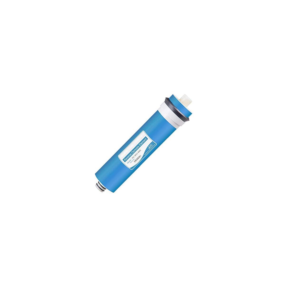 41SID7N168L. SS1200  - 3013-400GPD Membranas de Ósmosis Inversa, filtro de agua repuesto Elimina el 96% de los contaminantes en el agua
