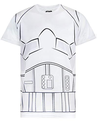 Star Wars Storm Trooper Costume Mens T-Shirt (Medium) (Wars-storm Trooper Star)