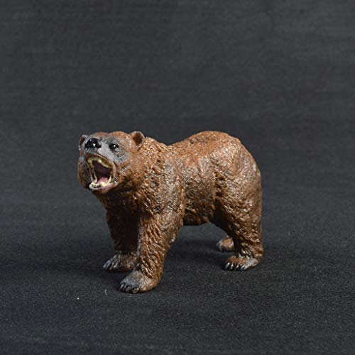 Zhangmeiren Toy Simulation Solid Zoo Toy Modelo Colección De Decoraci