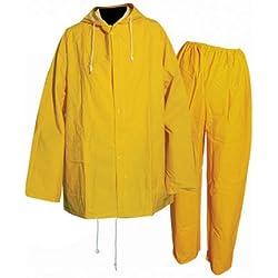 Silverline Indumentaria De Seguridad Impermeable Color Amarillo Talla XXL