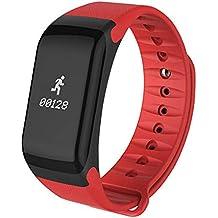 Reloj De Pulsera De F1 Smart Monitor de ritmo Cardiaco, Presion arterial Smartband - Smart