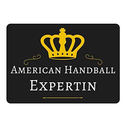 tappetino per mouse American Hand Ball riconosciuta Nero