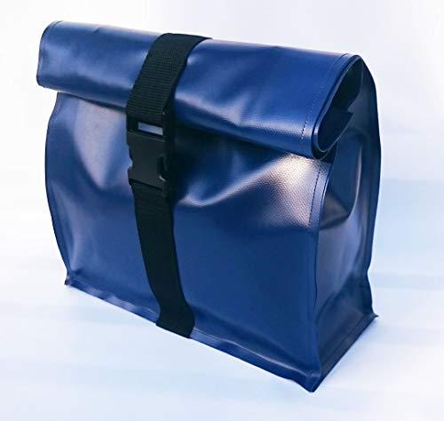 Kulturtasche XL aus LKW Plane dunkelblau von TITA BERLIN