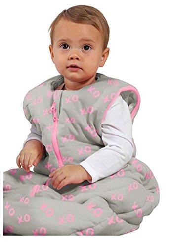 Baby Studio My First Sac de couchage réversible (de 0 à 6 mois, kiss-n-hugs, rose)