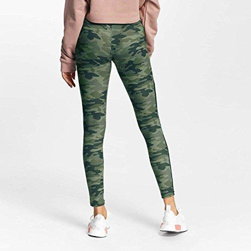 DEF Donna Pantaloni / Leggings Soldier Mimetico
