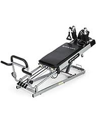 Capital Sports Pilato Pilates Reformer (banco de ejercicios, 120kg máx, altura regulable, multifuncional, entrenamiento en casa)
