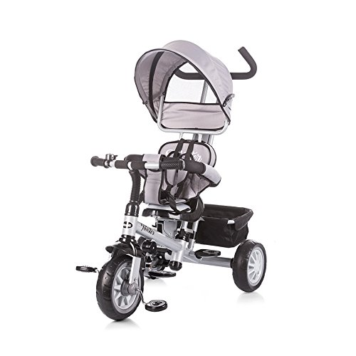Chipolino Tricycle with Canopy Twister, Grey