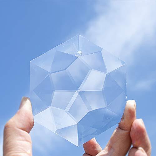 Desconocido H&D - Atrapasueños Hexagonal de Cristal para Colgar en la Ventana Feng Shui