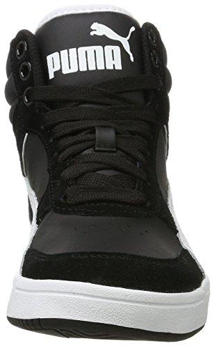 Puma Rebound Street V2, Scarpe da Ginnastica Basse Unisex-Adulto Nero (Puma Black-white)