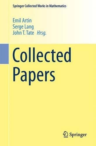 Collected Papers (German, English and French Edition) by Emil Artin (1982-04-01)
